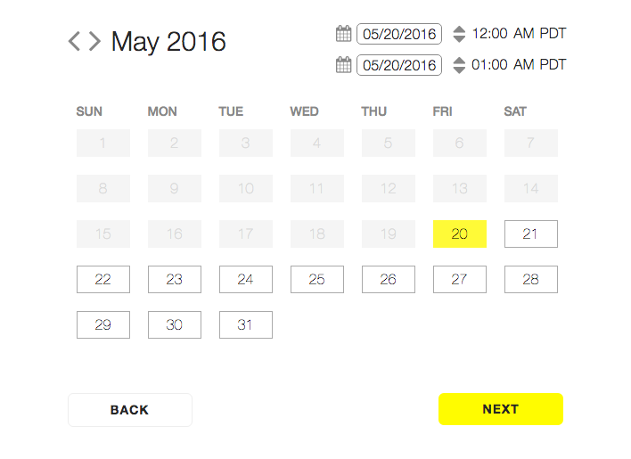 Snapchat Geofilters - Setting Your Dates - Moving Mountains Advisors